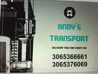Andy's transport