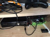 Xbox 360 Slim 250GB & Games