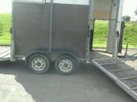 Ifor williams horse box trailer hb 505 no vat