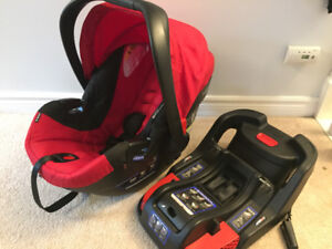 Britax infant car seat and stroller travel system