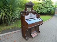 John Malcolm Of London Victorian Pump Organ