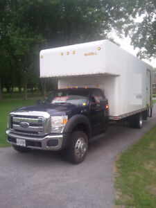 Ford F-550 Other has an older 20 foot van body