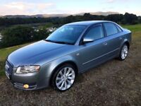 2006 AUDI A4 2.0 SE 140 BHP LADY OWNER BLACK EDITION STYLING