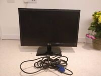 "LG LED LCD Flatron Widescreen Monitor 21.5"" (model: E2241S-BN)"