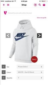 Woman's Nike hoodie size small