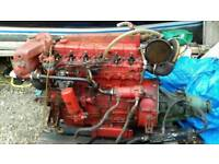 6 cylinder perkins diesel boat engine with gearbox