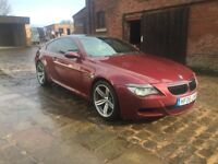 2006 BMW M6 5.0 V10 500BHP EXELLENT CONDITION FBMWSH,3 OWNERS