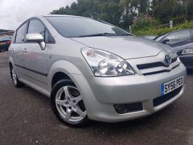 Toyota Corolla Verso 2.2 D-4D 140 TR (silver) 2006