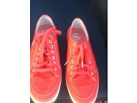 Red Fitflop Ladies Trainers / Shoes