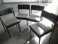 Grey Chairs x 4
