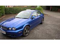 08 jag x.type 2.2 tdci sport auto rare lazuli blue superb car stunning looks later euro 4 engine
