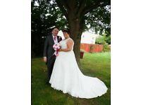 Plus Size Wedding Dress size 30