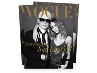 New VOGUE PARIS France Magazine Dec Jan 2016 Karl Lagerfeld Lily-Rose Depp