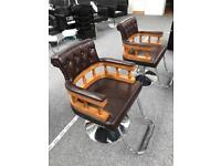 2 x Capstan Salon Chairs