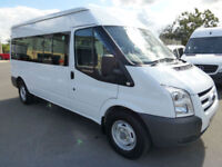 2008 Ford Transit 350 100ps LWB 15 seat Minibus, VERY LOW MILES, STUNNING BUS
