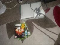 xbox 360 all in good working order with 3 games