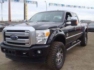 2015 Ford F-250 Platinum - Lifted Diesel - Everyone Approved