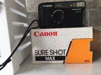 Canon sure shot brand new camera