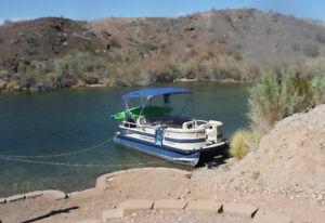 21 ft Crestliner pontoon