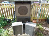 4 Speaker Cabs - Job Lot