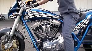 Build A Cool Harley Vee Bike with this Frame by John Reed
