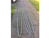 30 meters of 10mm galvanised anchor chain
