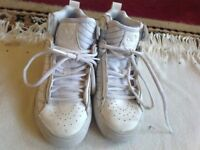 Adidas girls trainers white size 13 used £6