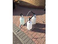 3 x 6litre Pump sprayers