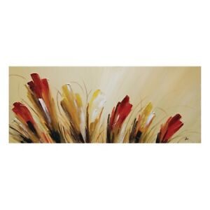 """Modern Tulips by Nathalie Viens 50""""x20"""" (Retails for $425)"""