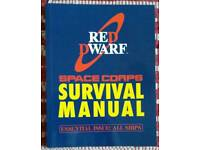 Red dwarf space corps survival manual
