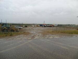 Industrial Fenced Lot