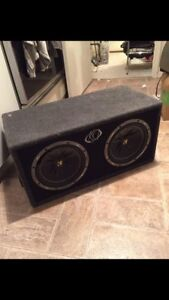 "Selling 2 10"" kicker comp subs"
