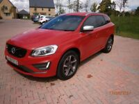 2015 XC60 RDESIGN LUX NAV MANUAL FULLY LOADED ONLY COVERED 9289 MILES