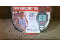 Old but unused Polar Accurex Plus HRM - new battery and watch working but HRM untested