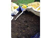 Free good quality topsoil