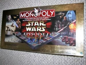 Star Wars Episode I, 3D Monopoly (1999) by Hasbro