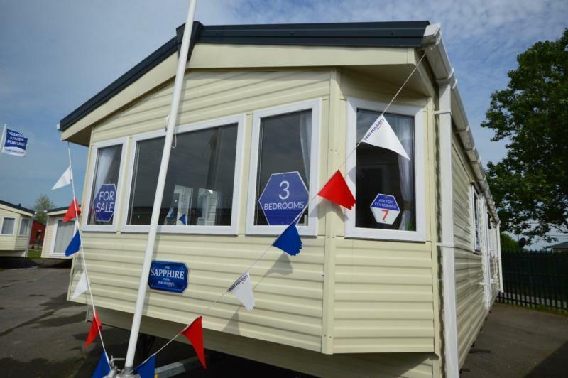 Static Caravan Whitstable Kent 3 Bedrooms 8 Berth Delta Sapphire 2016 Seaview