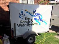 Ionics Reach & Wash purified window cleaning