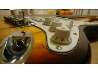 Gear 4 music electric guitar with case