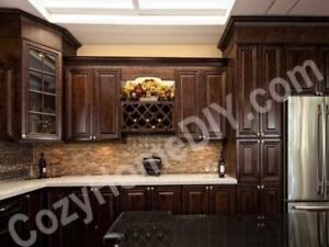10'X10' Solid Wood Kitchen Cabinet + Granite Counter from $4348