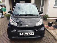 2007 57 SMART FORTWO PASSION 1.0 AUTOMATIC COUPE 1 LOCAL LADY OWNER FSH
