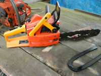 Husqvarna And Sachs Dolmar Chainsaws.