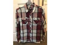 Animal Red Long Sleeve Shirt Size Medium