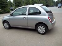 Nissan micra automatic, low mileage (27400 miles), hpi clear
