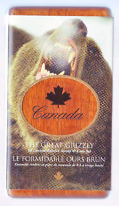 Canada Animal Coin and Stamp sets