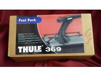 Thule foot pack for roof bars