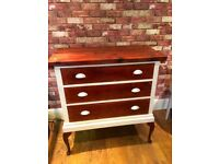 UPCYCLED VINTAGE CHEST OF DRAWERS - FREE DELIVERY IN DERBY