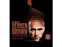 Derren Brown Underground @ Mayflower Southampton 5th September 2017
