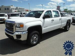 2015 GMC Sierra 2500HD WT - Crew - 8ft Long Box - 2WD - 20,143KM