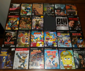 Lots of good Sony Ps2 games, 78 games to choose from
